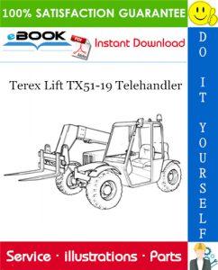 Terex Lift TX51-19 Telehandler Parts Manual