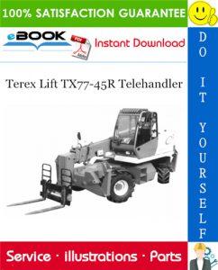 Terex Lift TX77-45R Telehandler Parts Manual