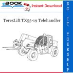 TerexLift TX55-19 Telehandler Parts Manual