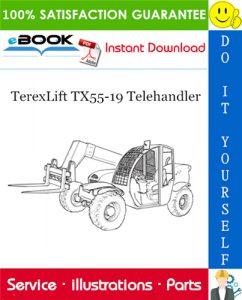 TerexLift TX55-19 Telehandler Parts Manual