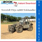TerexLift TX51-19MD Telehandler Parts Manual