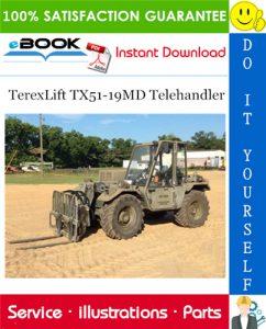 TerexLift TX51-19MD Telehandler Parts Manual