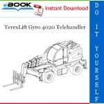 TerexLift Gyro 4020 Telehandler Parts Manual