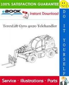 TerexLift Gyro 4020 Telehandler Parts Manual
