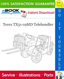 Terex TX51-19MD Telehandler Parts Manual (From serial No. 657769)