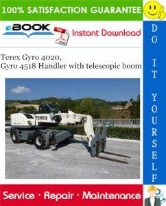 Terex Gyro 4020, Gyro 4518 Handler with telescopic boom Service Repair Manual