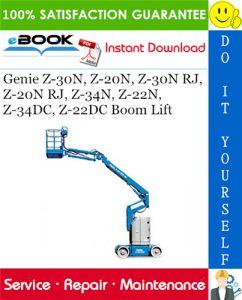 Genie Z-30N, Z-20N, Z-30N RJ, Z-20N RJ, Z-34N, Z-22N, Z-34DC, Z-22DC Boom Lift Service Repair Manual