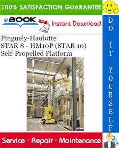 Pinguely-Haulotte STAR 8 - HM10P (STAR 10) Self-Propelled Platform Service Repair Manual