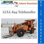 LULL 844 Telehandler Illustrated Parts Manual (P/N - 10709910)
