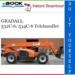 GRADALL 532C-6, 534C-6 Telehandler Illustrated Parts Manual (P/N - 9112-4051)