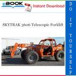 SKYTRAK 3606 Telescopic Forklift Service Repair Manual (P/N - 8990300)