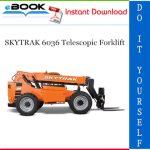 SKYTRAK 6036 Telescopic Forklift Service Repair Manual (P/N - 8990416)