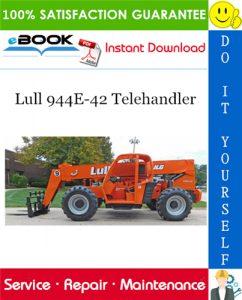 Lull 944E-42 Telehandler Service Repair Manual (P/N - 31200355)