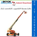 JLG 1200SJP, 1350SJP Boom Lifts Troubleshooting Manual