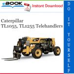 Caterpillar TL1055, TL1255 Telehandlers Operation & Maintenance Manual