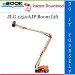 JLG 1250AJP Boom Lift Troubleshooting Manual