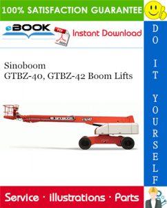 Sinoboom GTBZ-40, GTBZ-42 Boom Lifts Parts Manual