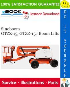 Sinoboom GTZZ-15, GTZZ-15J Boom Lifts Parts Manual