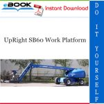 UpRight SB60 Work Platform Service & Parts Manual