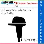 Johnson Evinrude Outboard 1Hp-60Hp Service Repair Manual