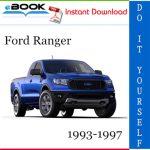 Ford Ranger Service Repair Manual 1993-1997 Download