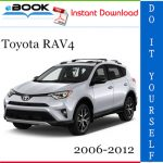 Toyota RAV4 Service Repair Manual