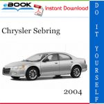 2004 Chrysler Sebring Service Repair Manual
