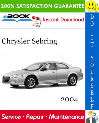 2004 Chrysler Sebring Service Repair Manual