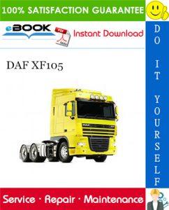 DAF XF105 Service Repair Manual