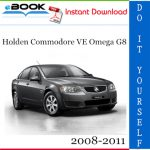 Holden Commodore VE Omega G8 Service Repair Manual