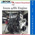 Isuzu 4JB1 Engine Service Repair Manual