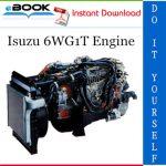 Isuzu 6WG1T Engine Service Repair Manual