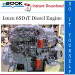 Isuzu 6SD1T Diesel Engine Service Repair Manual