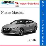 2016 Nissan Maxima Service Repair Manual