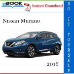 2016 Nissan Murano Service Repair Manual