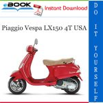 Piaggio Vespa LX150 4T USA Service Repair Manual