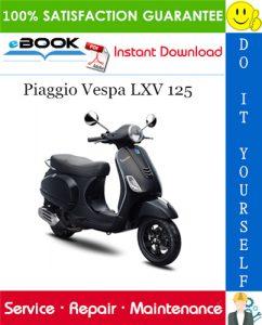 Piaggio Vespa LXV 125 Service Repair Manual