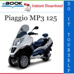 Piaggio MP3 125 Service Repair Manual