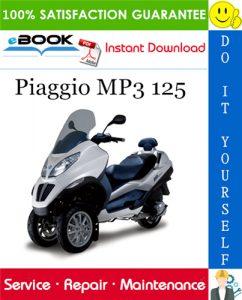 Piaggio MP3 125 Service Repair Manual