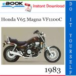 1983 Honda V65 Magna VF1100C Motorcycle Service Repair Manual