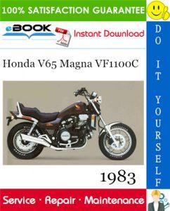 1983 Honda V65 Magna VF1100C Motorcycle Service Repair Manual