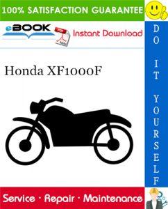 Honda XF1000F Motorcycle Service Repair Manual