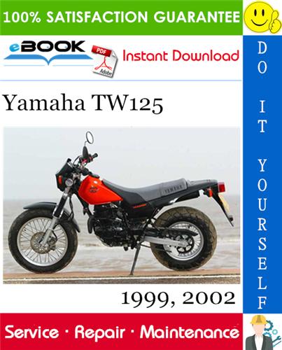 Yamaha TW125 Motorcycle Service Repair Manual 1999, 2002 ...