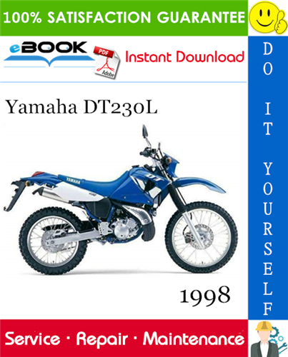 1998 Yamaha DT230L Motorcycle Service Repair Manual | PDF ...