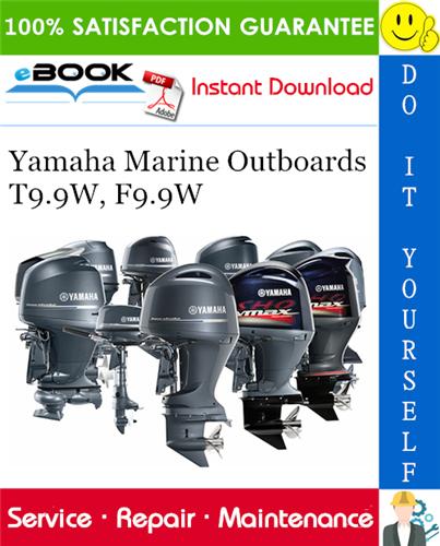 Yamaha Marine Outboards T9 9w  F9 9w  F8bmh  F8beh  F8be