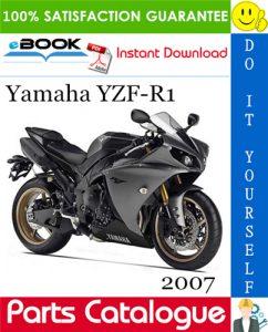 2007 Yamaha YZF-R1 Motorcycle Parts Catalogue Manual