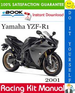 2001 Yamaha YZF-R1 Racing Kit Manual