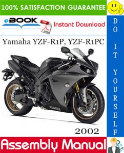 2002 Yamaha YZF-R1P, YZF-R1PC Motorcycle Assembly Manual