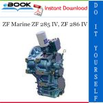 ZF Marine ZF 285 IV, ZF 286 IV Service Repair Manual