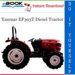 Yanmar EF393T Diesel Tractor Operator's Manual